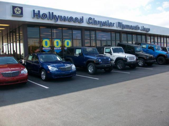Wranglers at Hollywood Chrysler Jeep