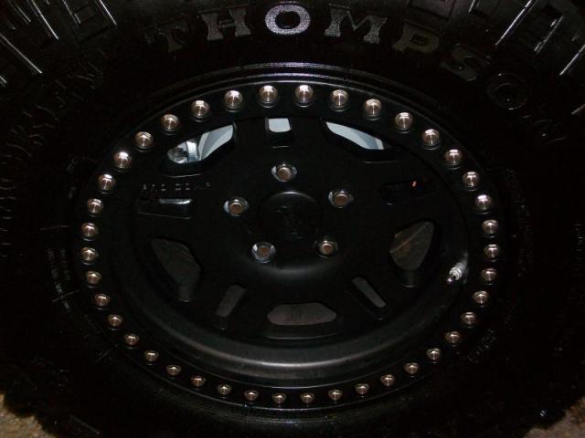 Alloy Wheel/Mickey Thompson Tires