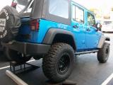 Blue Wrangler Unlimited